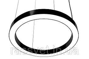 Светодиодный светильник кольцо, круг подвесной, накладной, профильный ,офисный  2500k-6000k 21-142 вт Ring