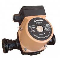 Насос циркуляционный Optima OP25-40 130мм + гайки, + кабель с вилкой