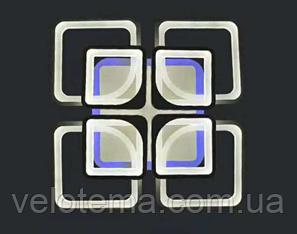 Led люстра RGB потолочная цвет каркаса белый чёрный