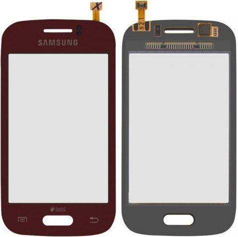 Сенсор (тачскрин) Samsung Galaxy Young S6310, S6312 Red