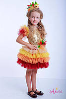 Карнавальный костюм Осень, Осенний листик для девочки, фото 1