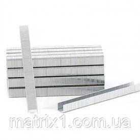 Скоби для пнів. степл., 10 мм, шир. - 1,2 мм, тол. - 0,6 мм, шир. скоби - 11,2 мм, 5000 шт.// MTX
