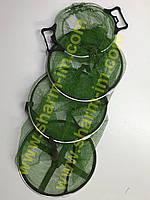 Садок Briz 1,7 м Круглый с ручками и алюминиевыми кольцами (Прорезиненный)