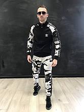 Спортивный костюм Adidas-камуфляж {S}
