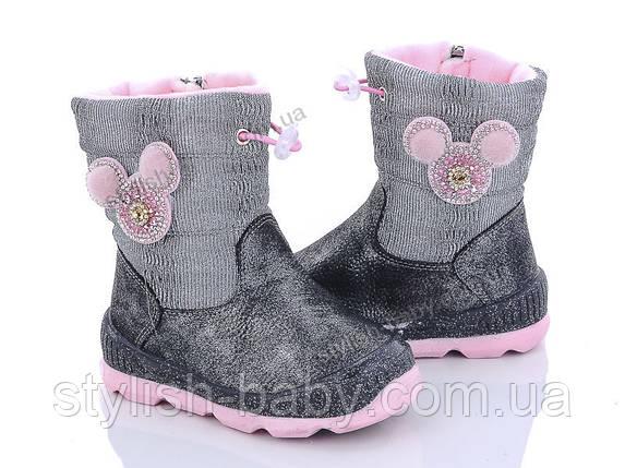 Нова колекція зимового взуття 2019. Дитяче зимове взуття бренду CBT.T - Meekone для дівчаток (рр. з 23 по 28), фото 2