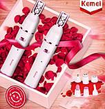 Эпилятор-триммер Kemei Km-2189, фото 6