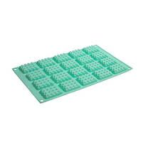 Силиконовая форма для шоколада 20 мини плиток