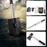Туристический набор 4 в 1 (лопата/нож/пила/топор), фото 8