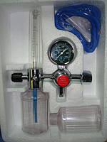 Увлажнитель кислорода Y001 для кислородной магистрали 10 л/мин с расходомером, евроразъемом