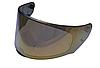 Визор (Стекло) для шлемов LS2 FF353 Rapid, FF320 Stream (золотистый)