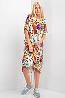 Модное красивое женское платье осень 2019цвет: желтый, размер: 2XL-3XL, 4XL-5XL, L-XL, S-M