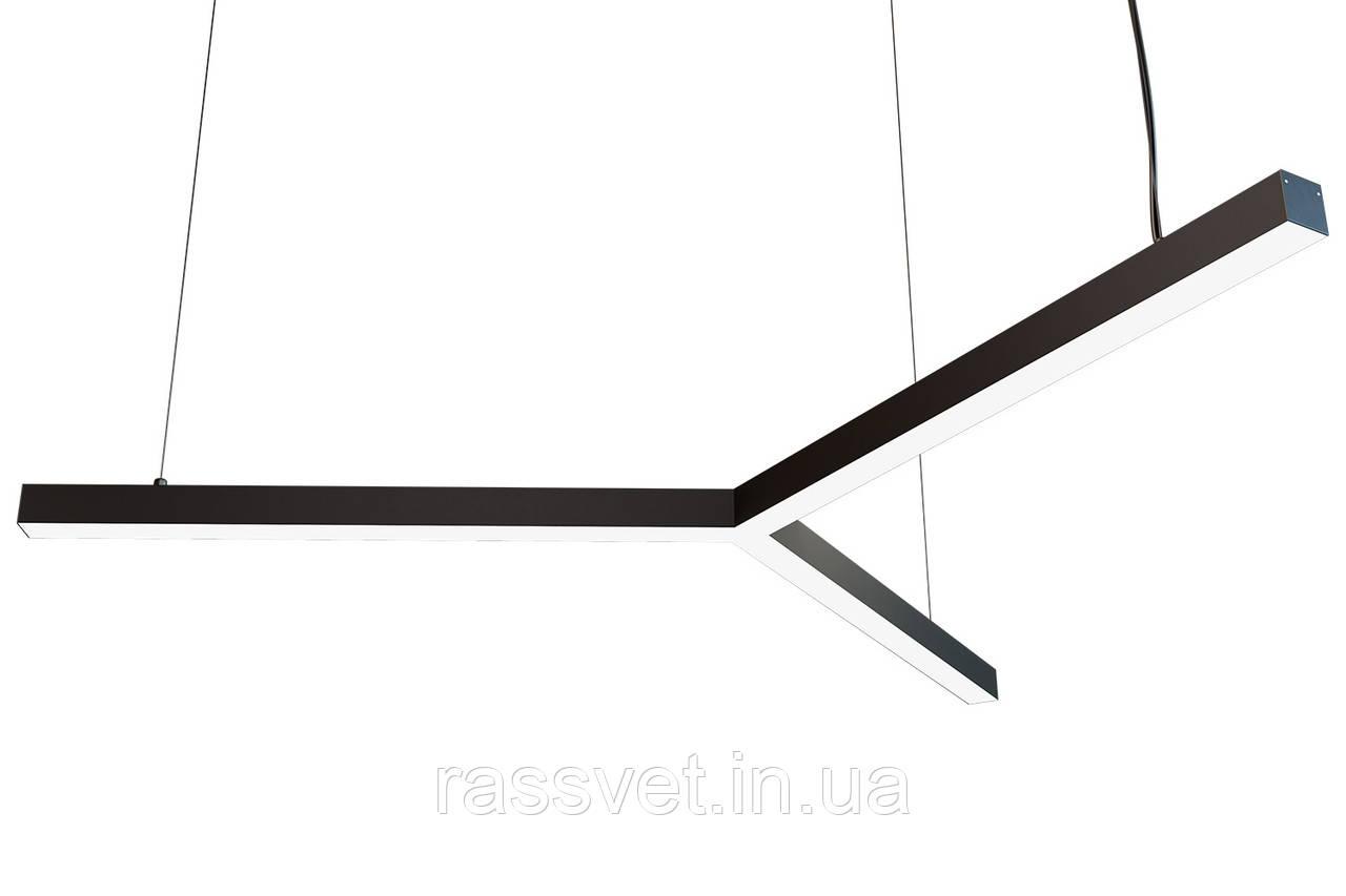 Світлодіодний світильник , підвісний, накладної, профільний ,офісний 2500k-6000k 20-225 вт Mers