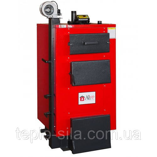 Котёл твердотопливный длительного горения Altep KT-1E-24 кВт