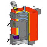 Котёл твердотопливный длительного горения Altep KT-1E-24 кВт, фото 2