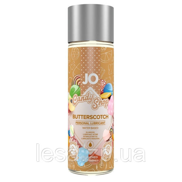 Лубрикант на водной основе System JO H2O - Candy Shop - Butterscotch (60 мл)