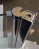 Штора для ванны Atlantis PF-74 (прозрачное стекло)  85х140 см, фото 4