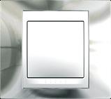 Рамка 3 пост. Unica Top хром блискучий/білий MGU66.006.810, фото 3