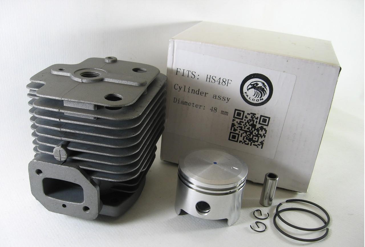Цилиндр с поршнем Homelite IE48F, Vorskla 6200, HS48F для культиватора Хомелитэ, Ворскла