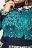 Батальное платье длинное в пол (52), фото 2