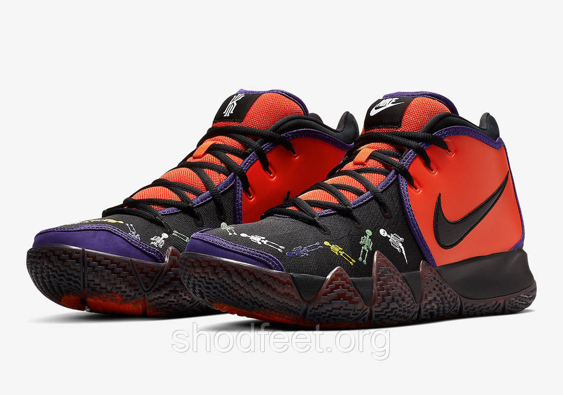 "Мужские баскетбольные кроссовки Nike Kyrie 4 ""Day Of The Dead"""