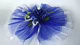 Сине белые сердца, на капот., фото 3