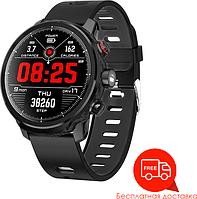 Смарт часы Blaze Light Умные часы Blaze для спорта туризма шагомер с влагозащитой Черный SKU_594