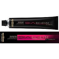 Краска для волос без аммиака L'Oreal Professionnel Diarichesse Hi-Visibility 7, блонд, 50 мл