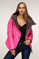 Оригинальная демисезонная куртка для девушки 1196 (44–54р) в расцветках