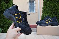 Мужские зимние кроссовки в стиле Merrell Iceberg Moc, черные (3307)