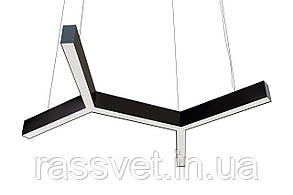 Светодиодный светильник Bone , подвесной, накладной, профильный ,офисный  2500k-6000k 30-375 вт