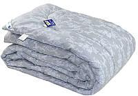 """Одеяло зимнее шерстяное """"Серый вензель""""  Руно™ 200х220 в Бязи, фото 1"""