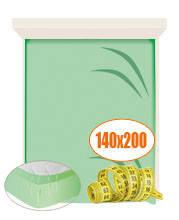 Простынь на резинке 140х200
