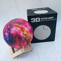 Светильник ночник детский Марс 3D Moon Light