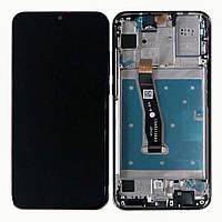 Дисплей (экран) для телефона Huawei P Smart 2019 (POT-L21, POT-LX1, 151mm) + Touchscreen with frame (original) Black