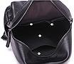 Рюкзак женский кожзам Young Blood черный с брелком, фото 5