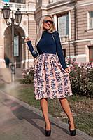 Женский костюм / костюмная ткань, мустанг / Украина 40-2140, фото 1