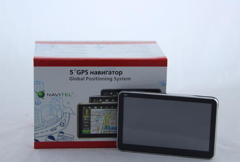 """GPS Навігатор GPS GPS 6001 5.0"""" ddr2-128mb, HD 8gb"""