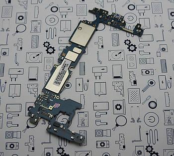 Материнская плата Samsung A6 2018 SM-A600FN 3\32Gb UACRF оригинал с разборки (100% рабочая)