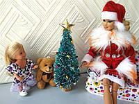 """Аксессуары для кукол - """"Новогодняя ёлочка"""" - высота 16 см, фото 1"""