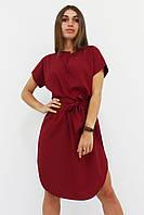 S, M, L, XL / Вишукане повсякденне плаття Megan, бордо S (42-44)