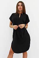S, M, L, XL / Вишукане повсякденне плаття Megan, чорний