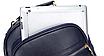 Рюкзак женский кожзам городской Casual Синий, фото 7