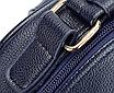 Рюкзак женский кожзам городской Casual Синий, фото 9