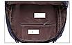 Рюкзак женский кожзам городской Casual Синий, фото 10
