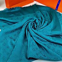 Платок Louis Vuitton цвет морской волны