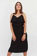 S, M, L / Молодіжне повсякденне плаття Janice, чорний