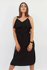 S, M, L | Молодіжне повсякденне чорне плаття Джаніс