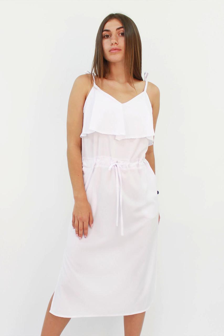 S, M, L / Молодіжне повсякденне плаття Janice, білий