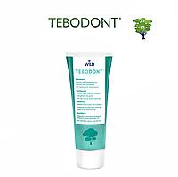 TEBODONT Зубная паста с маслом чайного дерева (Melaleuca Alternifolia), без фторида, 75 мл