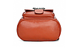 Рюкзак женский кожзам с брошкой Черный, фото 5